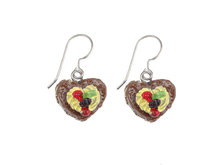 Titanium-earrings-with-brown-pieheart-with-sweets